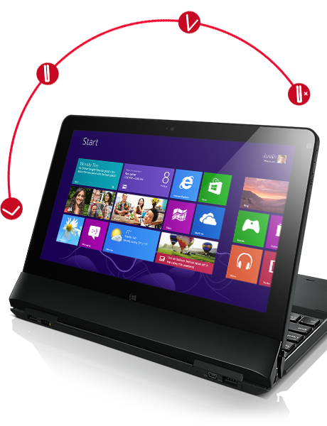 ThinkPad Helix Hybrid Ultrabook with detachable Tablet