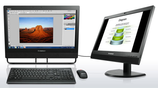 ThinkCentre M93z AIO with Windows 8.1 and Multi-Touch Screen